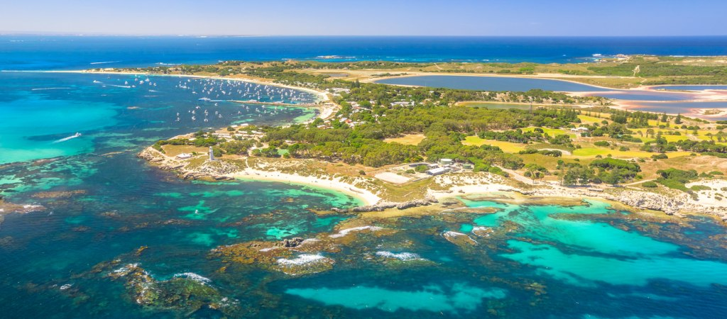 Rottnest Island is located near Fremantle and Perth